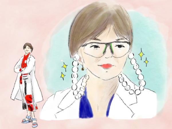 ドラマ「朝顔」山口智子さんの着こなし力