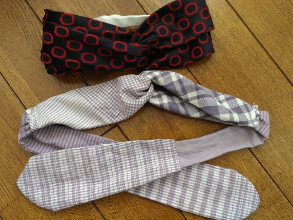 ネクタイで作るタ-バンに挑戦