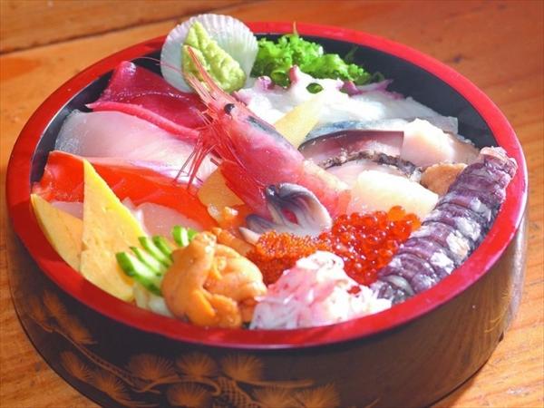 小樽 聖徳太子の生ちらし寿司