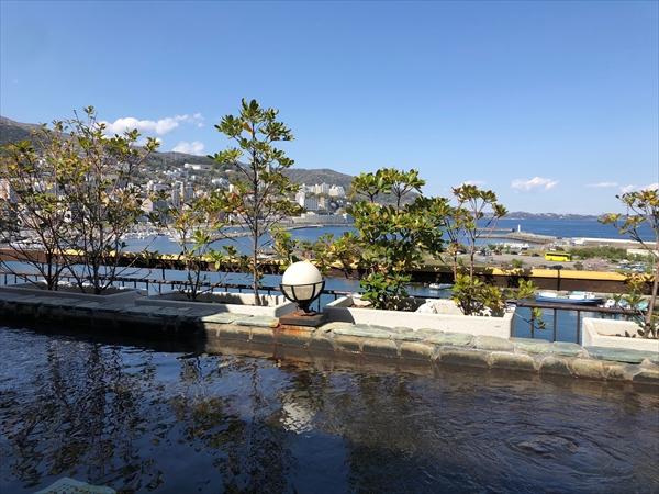 熱海の花火大会が目の前から「秀花園 湯の花膳」