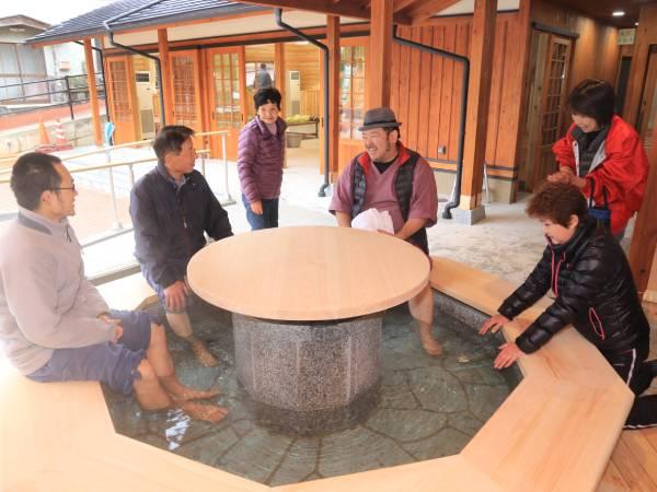 奈良の足湯