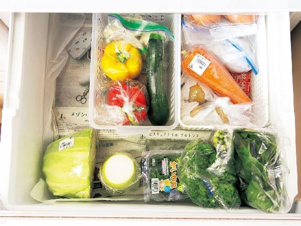 冷蔵庫の管理【野菜室・冷凍室】とムダなしレシピ