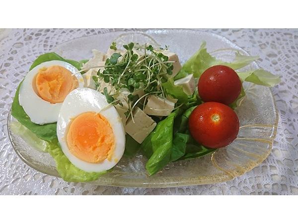 豆腐のポテトサラダ風と時短・省エネ卵料理の作り方