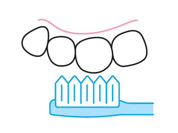 「一筆書き」の歯磨き法