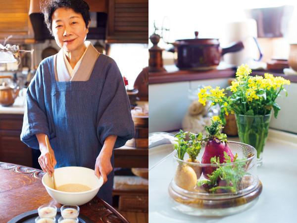 料理研究家・横山タカ子さんの「春を迎える準備」