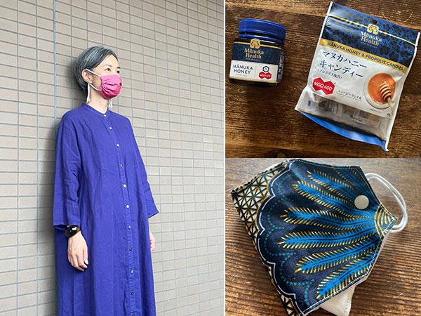 モデル青木沙織里さんのおすすめ感染対策グッズ