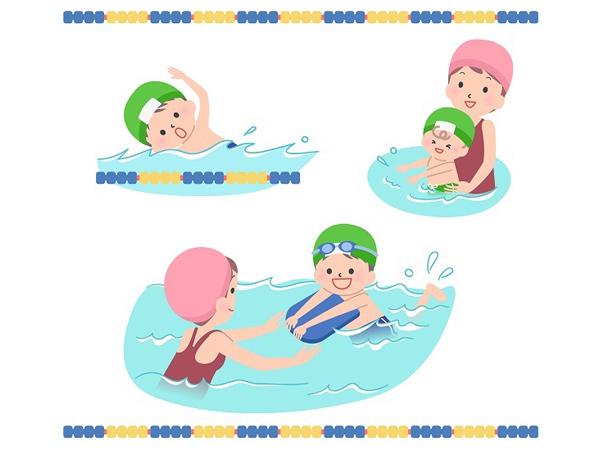 お子さん、お孫さんへ水泳レッスンをしてみませんか