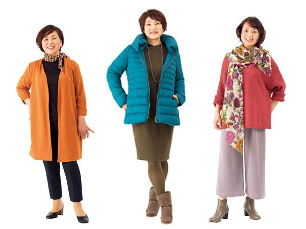 50代・60代女性のお手本コーデ!体型タイプ別似合う服