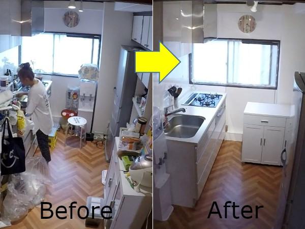キッチン収納を征するものは全収納を征する