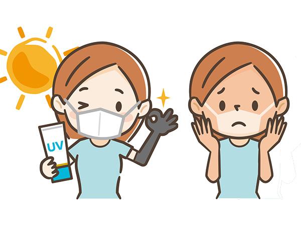 マスク生活での上手な日焼け止めの選び方・塗り方