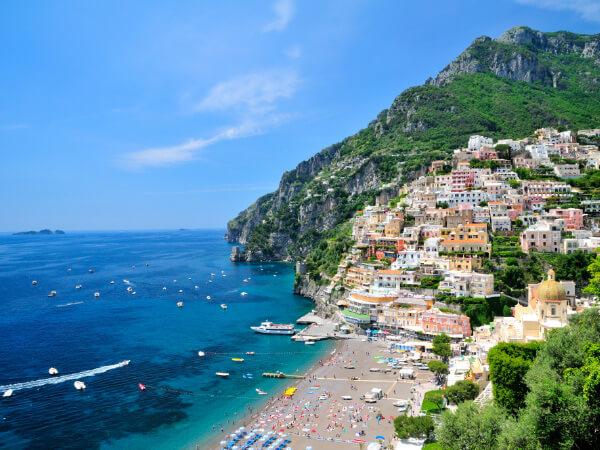 南イタリア アマルフィ海岸