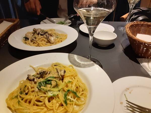 また食べたい!銀座で見つけた牡蠣の絶品スパゲティ!