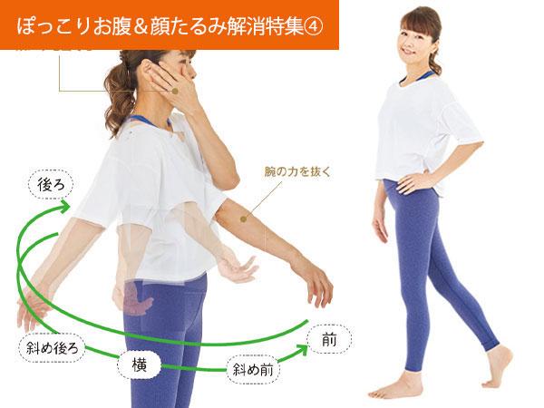 ウエスト-11cm!筋肉ゆるませトレーニング~体編