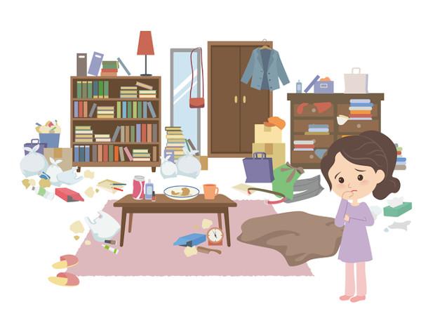 人生相談:家族のモノで家の中が全然片付かない!