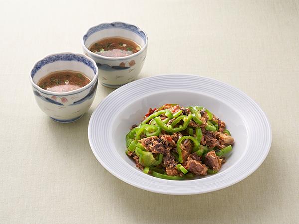 村上祥子さん缶詰&おだしで免疫力がつく簡単レシピ