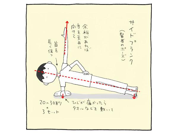 トメサイズ6:賢者のポーズで体幹を鍛えよう!