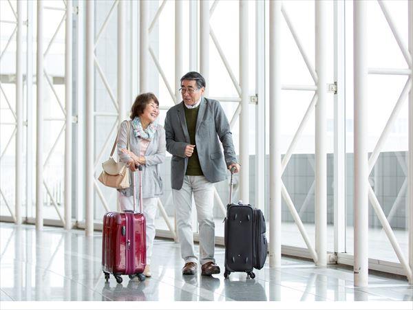 海外旅行夫婦旅