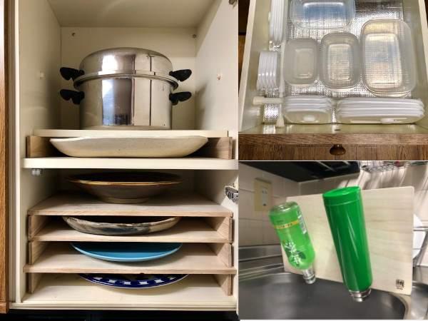 キッチン収納アイデア
