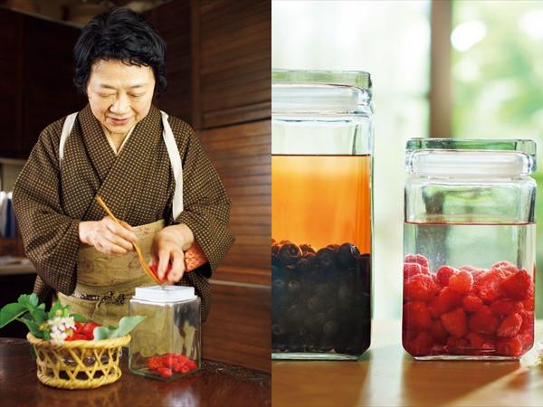 9月:初秋の頃は、果実酒を楽しんで