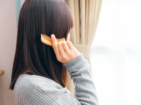 髪の毛の静電気対策
