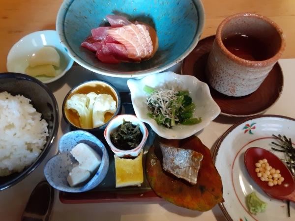 上野桜木でランチ「菜の花」で佐渡の味を堪能
