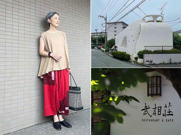 「tamaki niime (タマキニイメ)」の東京直営店