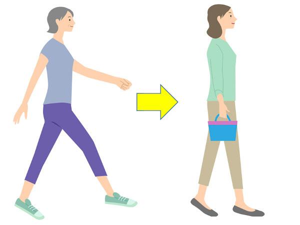 外反母趾を改善する歩き方