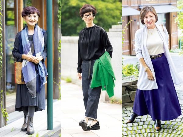60代ファッションのお手本