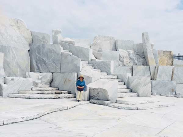 大理石の空間が広がる耕三寺「未来心の丘」