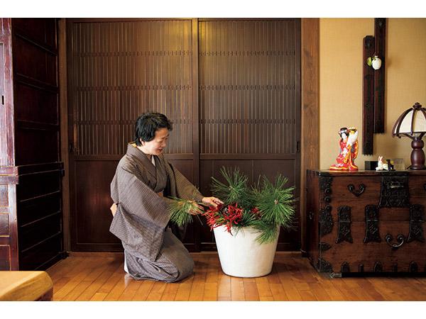 横山タカ子さんの正月