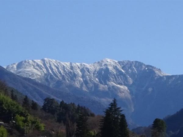 「日本で最も美しい村」大鹿村の中央構造線博物館へ