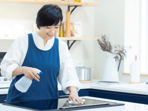 キッチン周り掃除方法!場所別に効果的なやり方を解説