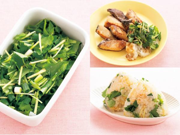 夏におすすめの薬味レシピ!ミツバミックス