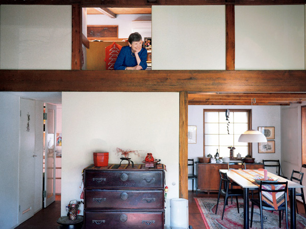 キルト作家 林アメリーさんの自宅