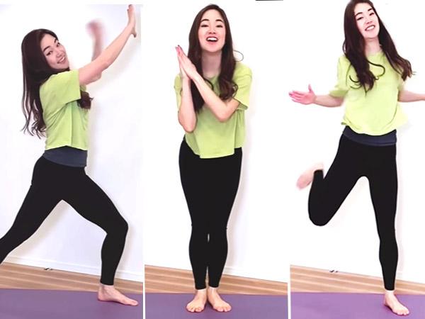 【動画】4分で代謝を上げる!「お祈りダンササイズ」