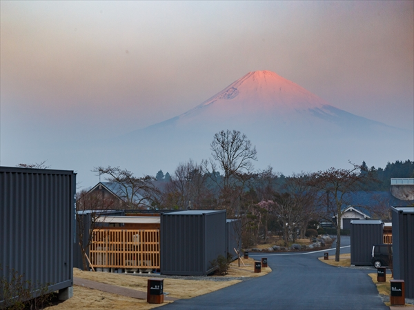 富士山のふもとでグランピングを体験してきた