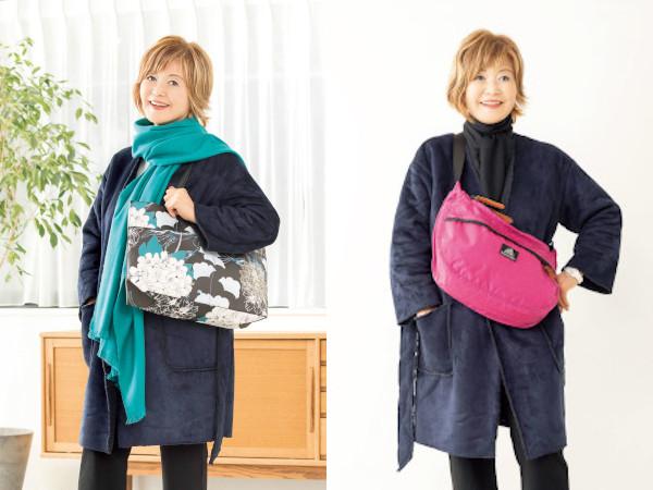 横森美奈子の目からウロコのおしゃれ塾:バッグの持ち方