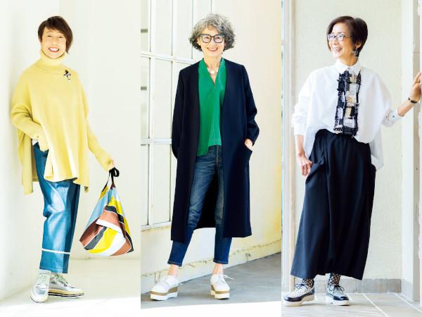 石田純子さんが解説!70代ファッションのコツ