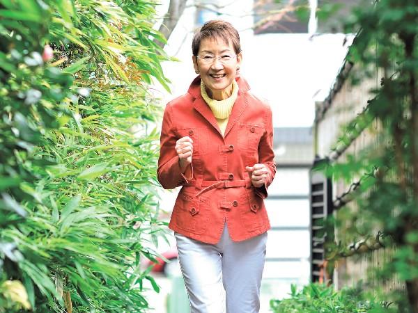 料理研究家の清水信子さん(77歳、取材当時)
