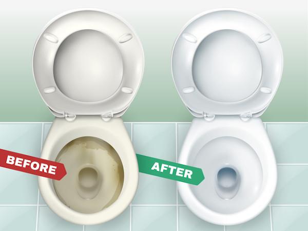トイレの汚れの原因と「さぼったリング」の落とし方