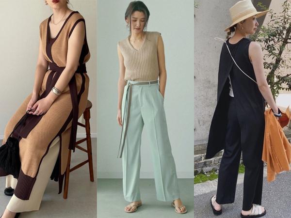 50代女性のノースリーブの選び方と着こなし術
