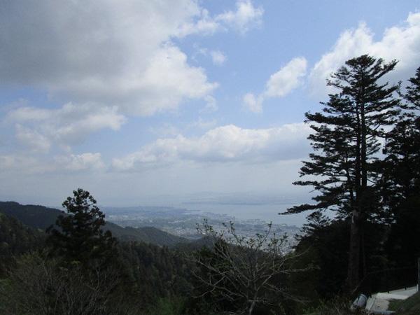 比叡山から琵琶湖方面