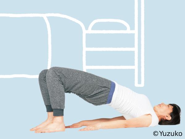 筋肉をほぐす快眠「リンパストレッチ」