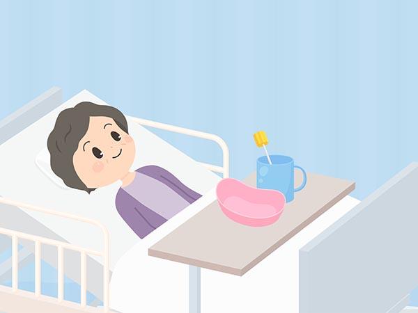 口腔ケアを怠ると寝たきりにつながりやすい