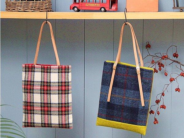 秋冬の手作りバッグ