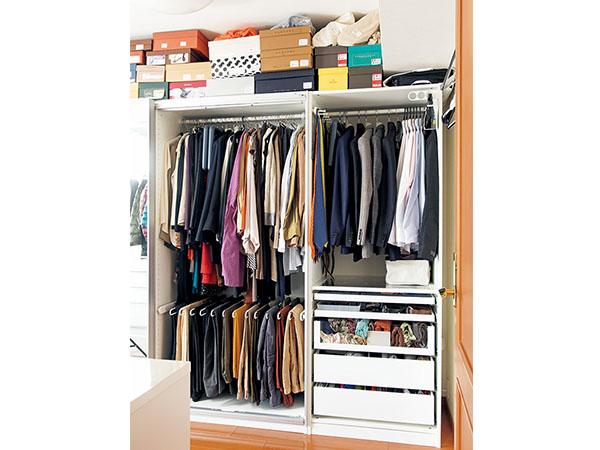 着たい服がすぐに見つかるクローゼット収納術