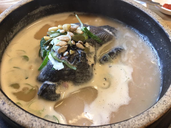 烏骨鶏湯(オゴルゲタン)