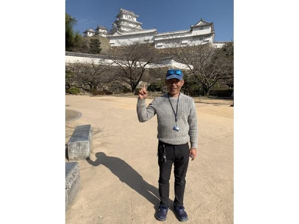 夫婦で念願の姫路城へ