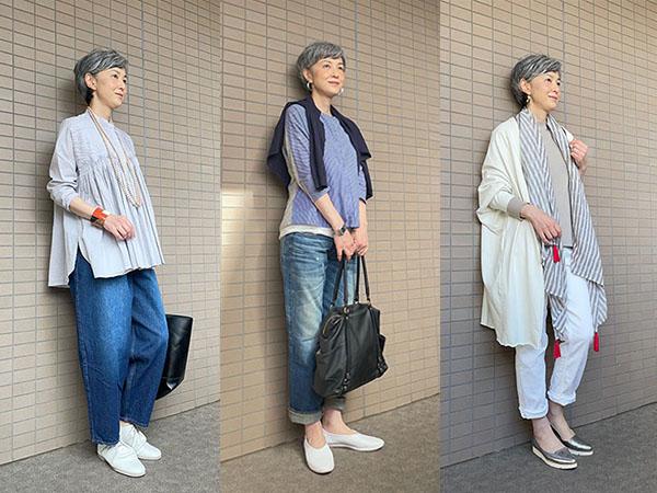おすすめ!50代女性のためのジーンズコーディネート