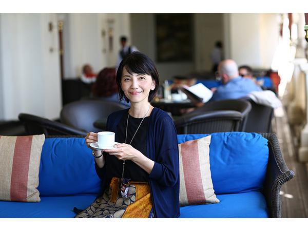 神奈川県横浜市石川町でセイロン紅茶専門店「MITSUTEA」を営んでいる中永美津代さん